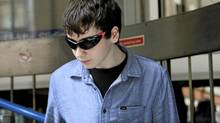 Suspected British computer hacker, Jake Davis, leaves City of Westminster Magistrates' Court after being released on bail, London August 1, 2011. Davis appeared in court on Monday charged with hacking offences, including hacking into the website of the Serious Organised Crime Agency (SOCA). (Stefan Wermuth/Reuters/Stefan Wermuth/Reuters)