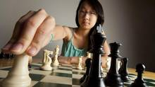 Chess Prodigy Jackie Peng, seen here at her home in Toronto, June 13, 2012, is a Grade 8 student who was recently named to the Canadian Women's Team for this summer's chess Olympiad in Istanbul. (Tim Fraser For The Globe and Mail)