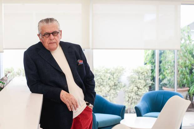 Businessman Youssef Zarrouk, shown at his yacht club in the Tunisian port town of Sidi Bou Said, says he received a $3.5-million 'success fee' payment from Bombardier in 2005.