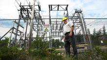 Stan Marshall, CEO of Fortis Inc., at the Seal Cove Power plant in 2012. (Paul Daly/Paul Daly for The Globe and Mail)