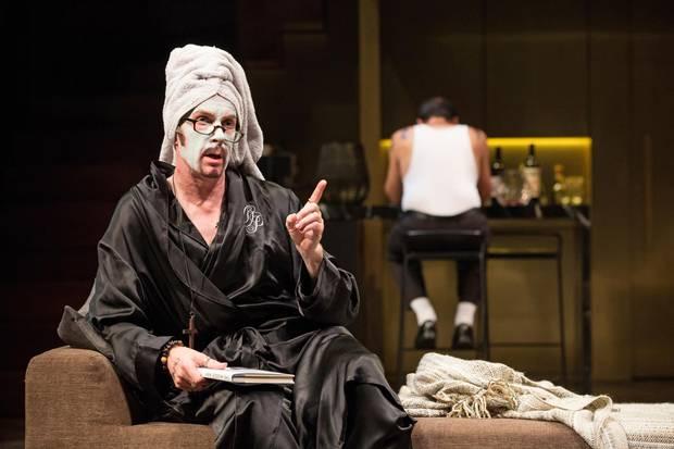 Tom Rooney in Tartuffe.