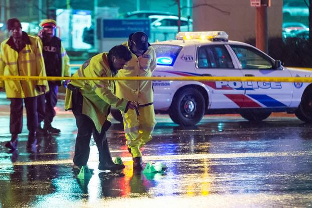 A driver fled the scene after striking, and killing, a woman on Markham Road north of Finch Avenue in late March.