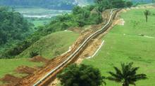 The OCEANSA pipeline in Columbia. (Enbridge Inc.)