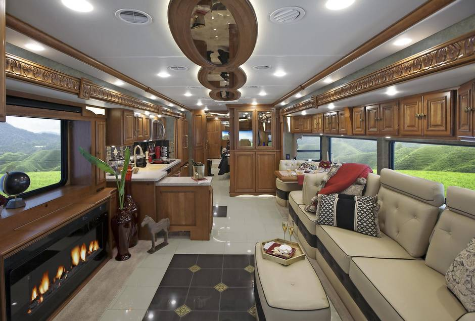Suite Rides Ultra Luxe Motorhomes To Road Trip Like A