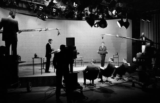 The birth of televised presidential debates: 1960 saw John F. Kennedy outshine Richard Nixon.