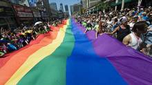 More than a million people attended Toronto's Pride parade on Sun., July 4. (Adrien Veczan/The Canadian Press)
