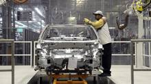 Manufacturing is now expanding in the U.S. and that, along with a housing revival, bodes well for stepped-up job creation. Seen here, Volkswagen's Chattanooga plant. (© Billy Weeks / Reuters/REUTERS)