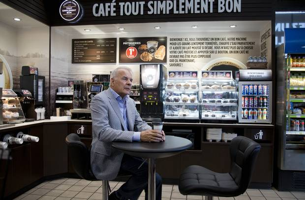Couche Tarde co-founder Alain Bouchard