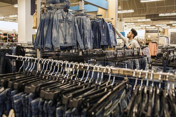 Off-price sales in Canada jumped 12 per cent to $1.8-billion in the year ended Jan. 31, even as overall apparel sales dropped 2 per cent to $26.9-billion in the same period, according to NPD.