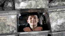 Robert Hampson, 19, is the founder of the Robert Hampson Tabs for Kids Fund. (Deborah Baic/Deborah Baic/The Globe and Mail)