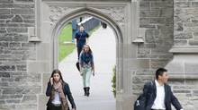 Student debt levels have increased sharply and tuition and house prices have both been rising faster than income. (Kevin Van Paassen/The Globe and Mail)