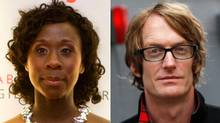 Esi Edugyan (left) and Patrick deWitt