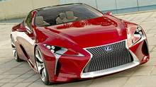 The Lexus LF-LC. (ADAM_CAMPBELL/Toyota)