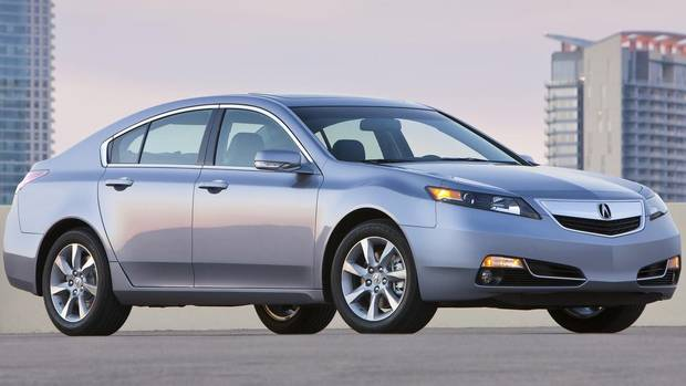 Good or acceptable: 2012 Acura TL (Honda/Wieck)