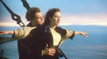 Leonardo DiCaprio and Kate Winslet in Titanic. (AFP)