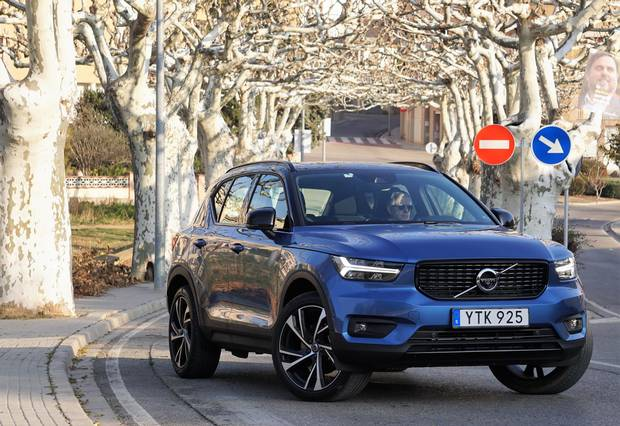 review the volvo xc40 has personality style and is good fun to drive the globe and mail. Black Bedroom Furniture Sets. Home Design Ideas