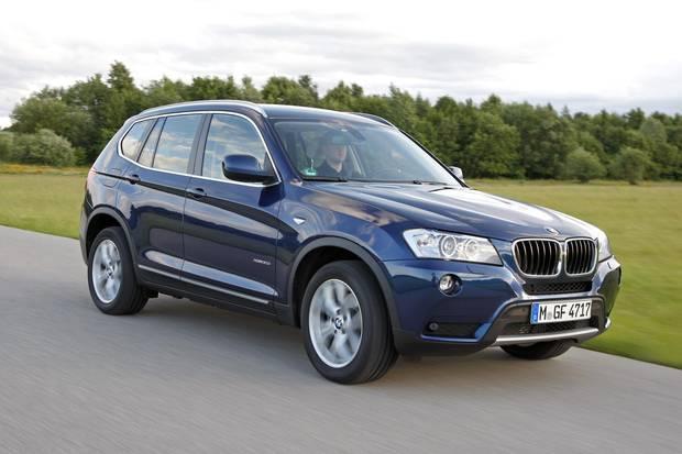 2012 BMW X3.