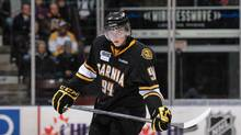 Undated photo of Alex Galchenyuk playing for the Sarnia Sting. (Janet and Darren Metcalfe/Handout)