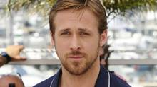 Ryan Gosling poses during a photo call for Drive at the 64th international film festival, in Cannes, southern France, Friday, May 20, 2011. (Jonathan Short/AP)