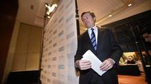 John Tory is taking a page from Rob Ford for how he aims to fund his transit plan. (Fred Lum/The Globe and Mail)