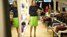 Jenna Lyons, president of J. Crew, is photographed at the retailers new location in Yorkdale Mall in Toronto, Ont. Aug. 17/2011. (Kevin Van Paassen / The Globe and Mail/Kevin Van Paassen / The Globe and Mail)