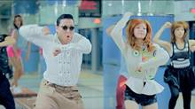 Frame grab from the video PSY - GANGNAM STYLE