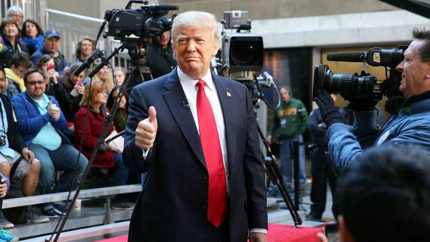 U.S. President Donald Trump's aesthetics are remarkably consistent, with a taste for baggy trousers, too-wide jackets and long ties.