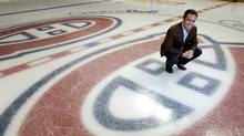 Geoff Molson, owner of the Montreal Canadiens, in Montreal, December 17, 2009. (Christinne Muschi/christinne muschi)