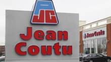 An exterior shot of Jean Coutu store in Longueuil, Quebec, May 2, 2012 (Christinne Muschi)