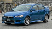 2012 Mitsubishi Lancer (Dan Proudfoot for The Globe and Mail)