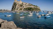 Aragonese Castle in Ischia, a little island in the Bay of Naples. (iStockphoto)