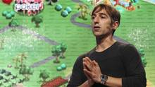 Mark Pincus, Zynga Inc. CEO, on Oct. 11, 2011. Year invested in Facebook: 2004 Number of shares being offered: 1 million Value at $35 per share: $35-million (Stephen Lam / Reuters/REUTERS/Stephen Lam)