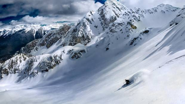 The slopes of Revelstoke Mountain Resort