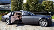 Rolls-Royce Phantom - Extended Wheelbase. Each body receives five individual coats of paint and lacquer, with hand-finishing between each layer before being polished for five hours (Rolls-Royce)