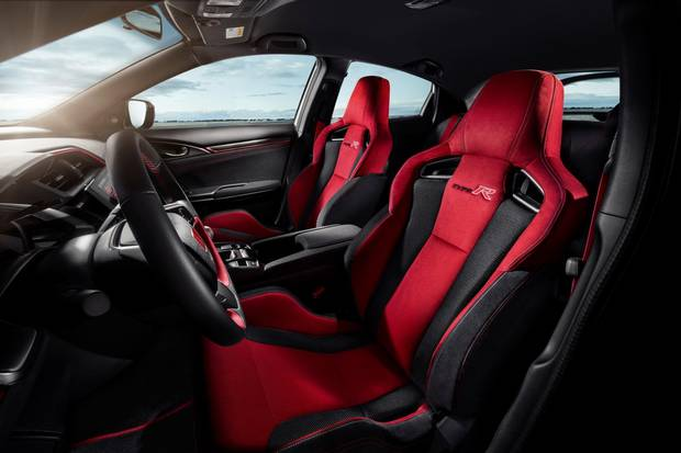 Red seats are a Type R tradition.