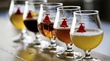 Bellwoods Brewery ales (Kevin Van Paassen/The Globe and Mail/Kevin Van Paassen/The Globe and Mail)