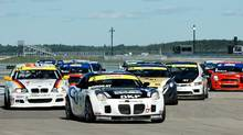 Etienne Borgeat of Montreal won the Super Canadian Touring Car Championship behind the wheel of his Pontiac Solstice. (Castrol Canadian Touring Car Championship)