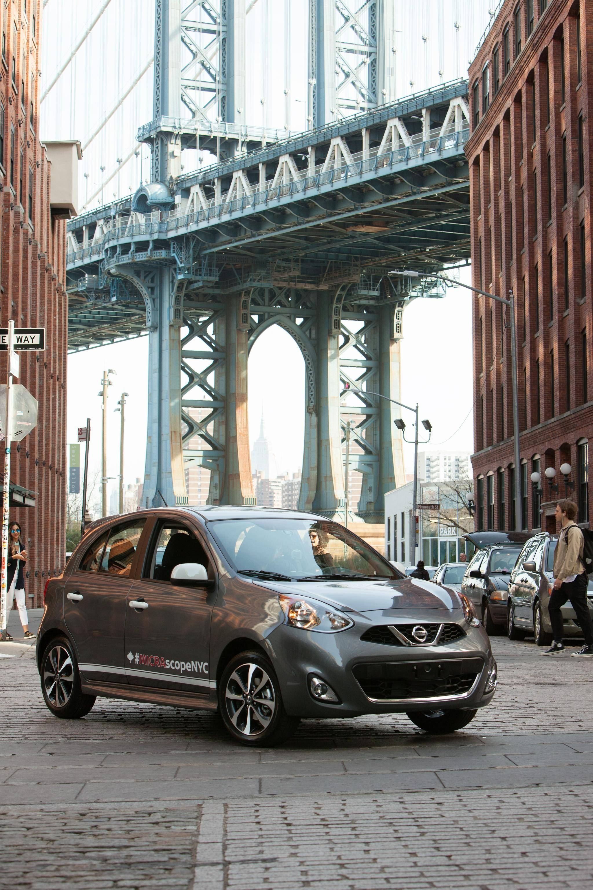 Despite its density new yorkers have yet to embrace the concept of city cars nissan