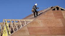 File photo of new home construction in Ontario. (Moe Doiron/Moe Doiron/The Globe and Mail)
