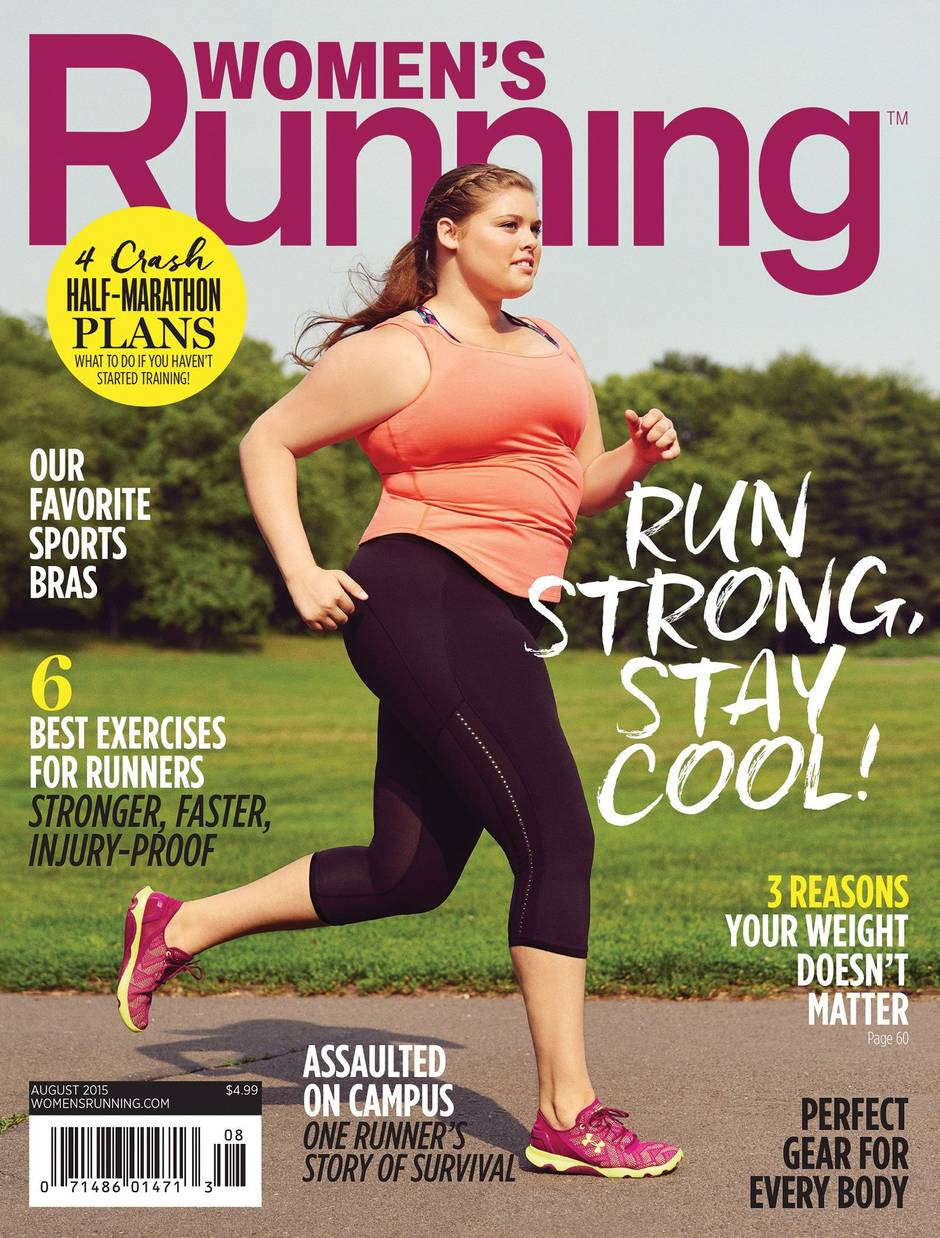 Women's Running reconsiders image of fitness with plus-size model
