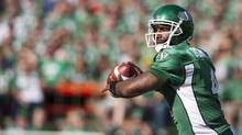 The boot is off, as Darian Durant waits for the other shoe to drop (Liam Richards/THE CANADIAN PRESS)