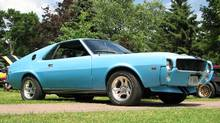 The 1969 AMX was the first purchase for Norm Emond's growing collection.