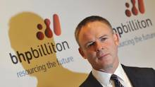 Departing BHP Billiton CEO Marius Kloppers. (TOBY MELVILLE/REUTERS)