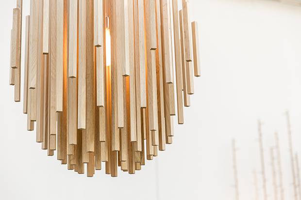 Work by lighting designers Propellor, showing at this year's Address.