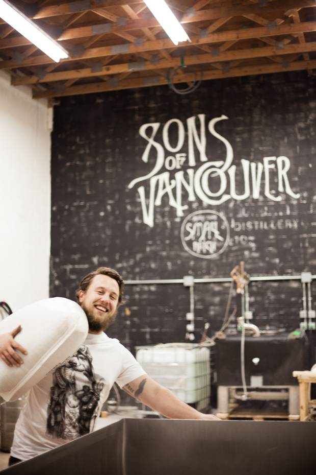 The small-batch Sons of Vancouver Distillery has garnered a cult following thanks to its spicy offerings.