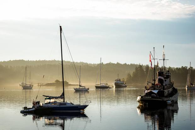 In 1905, the island became known as Salt Spring, for the salt springs in its north end.