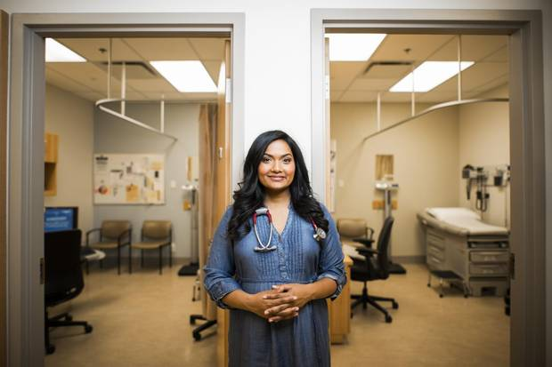 Dr. Wijayasinghe and her husband have been trying to conceive for three-and-a-half years.