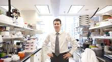 Dr. Stephen Scherer, is the senior scientist leading the Personal Genome Project in Canada. He is photographed in Toronto Nov 29, 2012. (Moe Doiron/The Globe and Mail)