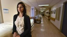 Reena Pattani, a doctor at St. Michael's Hospital in Toronto, says it's nice to think reducing the length of medical residents' shifts will result in better patient care, but her research reveals little difference. (Fred Lum/The Globe and Mail)