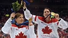Olympic gold medalist Gillian Apps. (Courtesy of Hockey Canada)